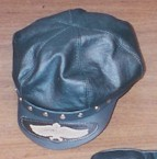 Motor Cycle Cap w/ eagle Patch