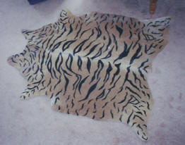 Exotic Printed Steer Hide