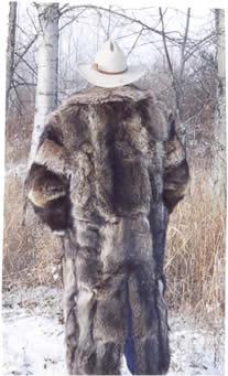 Mens Raccoat Mens Coyote Parka